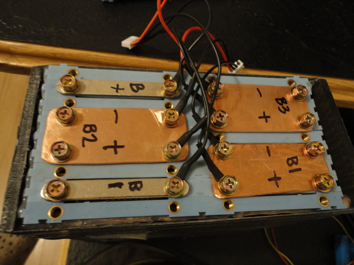 how to build a123 battery pack